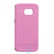 Чехол-накладка Motomo X6 Samsung S7 Edge G935 розовый