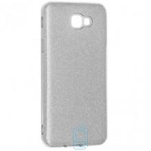 Чехол силиконовый Shine Samsung J5 Prime G570 серебристый