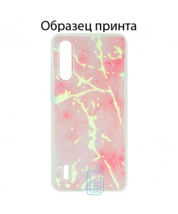 Чехол Marble Apple iPhone 11 Pro pink