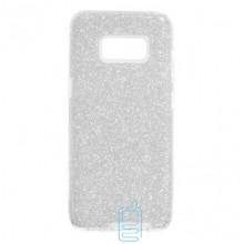Чехол силиконовый Shine Samsung S8 Plus G955 серебристый