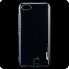 Чехол силиконовый SMTT Xiaomi Redmi 6A прозрачный