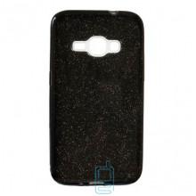 Чехол силиконовый Shine Samsung J1 2016 J120 черный