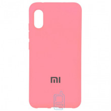 Чехол Silicone Case Full Xiaomi Mi 8 Pro розовый
