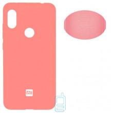 Чехол Silicone Cover Full Xiaomi Redmi Note 6, Note 6 Pro розовый