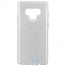 Чехол силиконовый Shine Samsung Note 9 N960 серебристый
