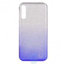 Чехол силиконовый Shine Samsung A7 2018 A750 градиент синий