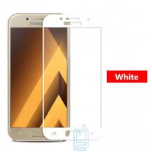 Защитное стекло 5D Samsung A5 2017 A520 white тех.пакет