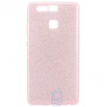 Чехол силиконовый Shine Huawei P9 розовый