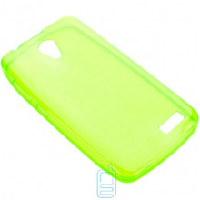 Чехол силиконовый цветной Lenovo A319 зеленый