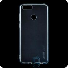 Чехол силиконовый SMTT Huawei Honor 7X прозрачный
