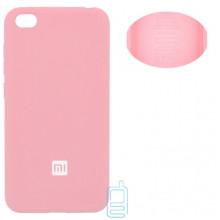 Чехол Silicone Cover Full Xiaomi Redmi GO розовый