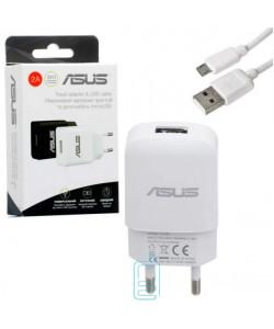 Сетевое зарядное устройство Asus YJ-06 1USB 2.0A micro-USB white