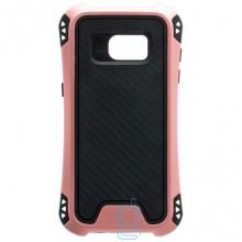Чехол силиконовый WUW X1 Samsung S7 Edge G935 розово-золотистый