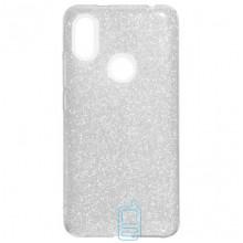 Чехол силиконовый Shine Xiaomi Redmi S2, Y2 серебристый