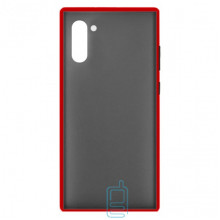 Чехол Goospery Case Samsung Note 10 N970 красный