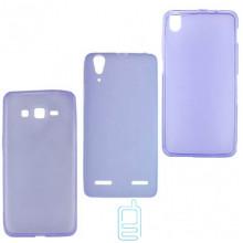 Чехол силиконовый цветной Lenovo Vibe Z2 Pro K920 фиолетовый