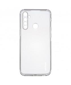 TPU чехол GETMAN Clear 1,0 mm для Realme 5 — Прозрачный