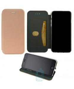Чехол-книжка Elite Case Nokia 7 Plus розово-золотистый