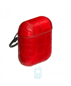 Футляр для наушников Airpod Kroco красный