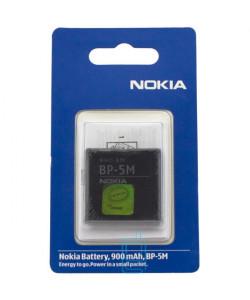 Аккумулятор Nokia BP-5M 900 mAh 5610, 5700, 6500 Slide AAA класс блистер