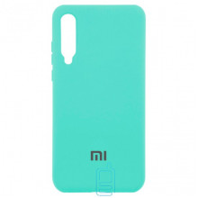 Чехол Silicone Case Full Xiaomi Mi 9 бирюзовый