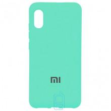 Чехол Silicone Case Full Xiaomi Mi 8 Pro бирюзовый