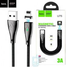USB Кабель Hoco U75 ″Blaze magnetic″ Lightning 1.2М черный