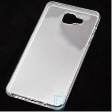 Чехол силиконовый Samsung A5 2016 A510 прозрачный