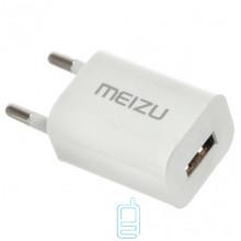 Сетевое зарядное устройство Meizu 1USB 1.5A white без коробки
