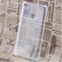 Чехол силиконовый Xiaomi Mi Max 2 усиленный прозрачный