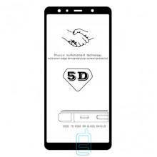 Защитное стекло 5D Samsung A7 2018 A750 black тех.пакет