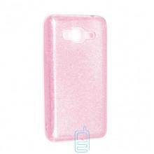 Чехол силиконовый Shine Samsung Grand Prime G530, J2 Prime G532 розовый