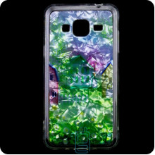 Cиликон Garden Samsung J3 2015 J300 домики