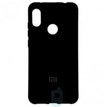 Чехол Silicone Case Full Xiaomi Redmi 6 Pro, Mi A2 Lite черный