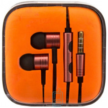 Наушники с микрофоном Xiaomi Huosai Piston V2 розовые
