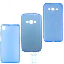 Чехол силиконовый цветной Lenovo Vibe Z2 Pro K920 синий