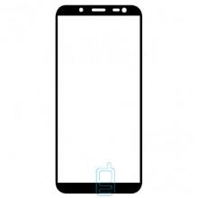 Защитное стекло Full Glue Samsung J6 2018 J600 black тех.пакет