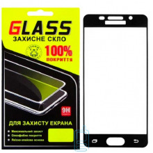 Защитное стекло Full Screen Samsung A3 2016 A310 black Glass