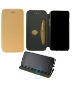 Чехол-книжка Elite Case Nokia 7 Plus золотистый