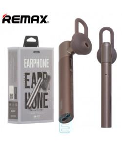 Bluetooth гарнитура Remax RB-T17 коричневая