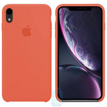 Чехол Silicone Case Apple iPhone XR оранжевый 49