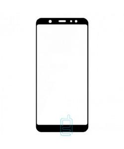 Защитное стекло Full Glue Samsung A6 Plus 2018 A605 black тех.пакет
