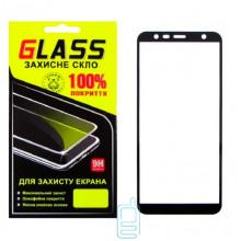 Защитное стекло Full Screen Samsung J4 Plus 2018 J415 black Glass