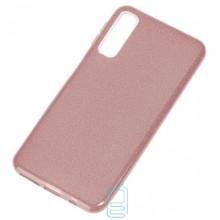 Чехол силиконовый Shine Samsung A7 2018 A750 розовый