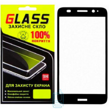 Защитное стекло Full Screen Huawei Y3 2017 black Glass