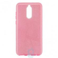 Чехол силиконовый Shine Huawei Mate 10 Lite розовый