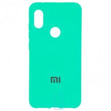Чехол Silicone Case Full Xiaomi Mi6X, Mi A2 бирюзовый