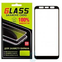 Защитное стекло Full Glue Samsung J4 Plus 2018 J415 black Glass