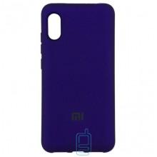 Чехол Silicone Case Full Xiaomi Mi 8 Pro фиолетовый