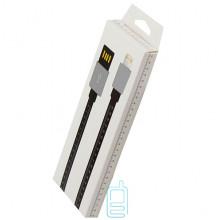 USB кабель iPhone 5S линейка 1m черный